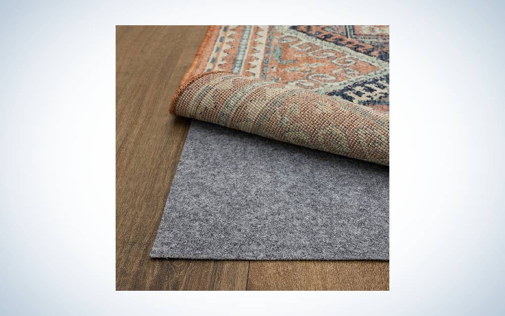 The Mohawk Home Low Profile Felt Non Slip Latex Dual Surface Rug Pad is the best value.