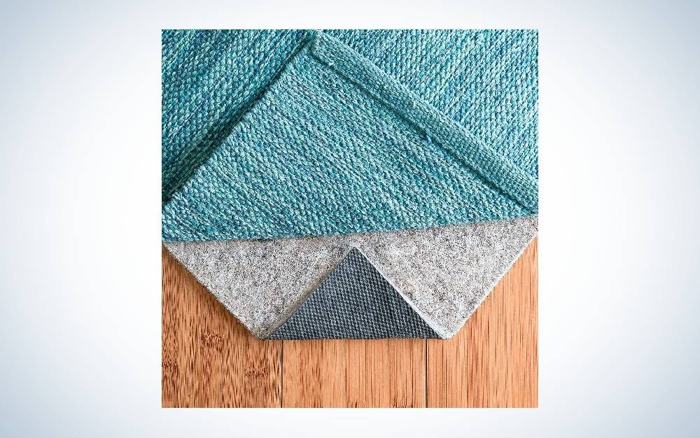 The RUGPADUSA Dual Surface Non-Slip Rug Pad is the best overall.