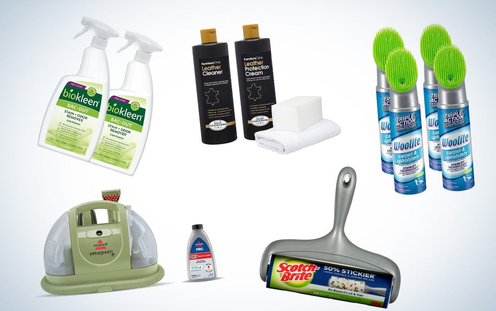 best sofa cleaning supplies