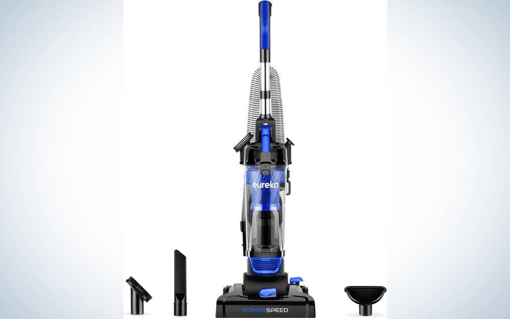 The Eureka Lightweight Powerful Vacuum is our pick for the most user-friendly carpet cleaner machine.