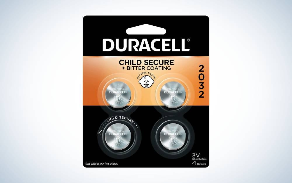 The Duracell 232 3 Volt is the best CR2032 coin battery.