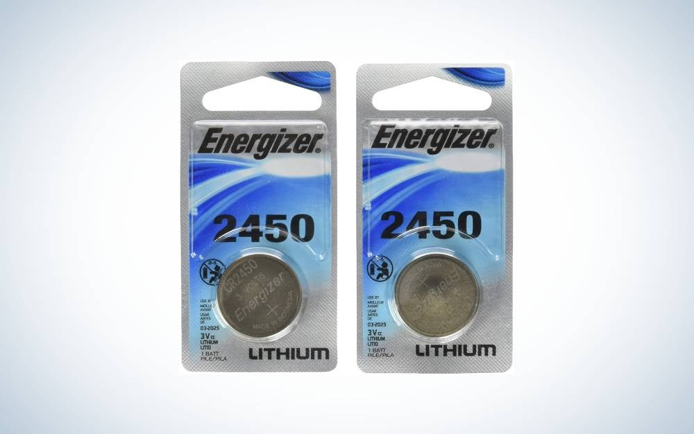 The Energizer 2450 3 Volt is the best lithium coin battery.