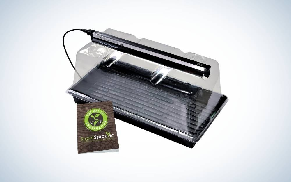 Super Sprouter HGC726403 Deluxe Propagation Kit are the best overall seedling starter trays.